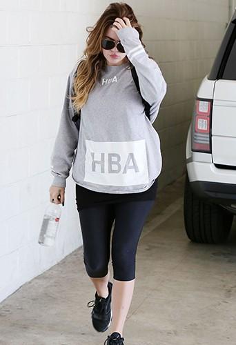 Khloé Kardashian à Los Angeles le 12 septembre 2014