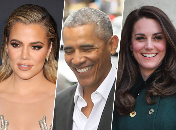 Khloe Kardashian, Barack Obama, Kate Middleton : ces stars qui sont super drôles dans la vie !