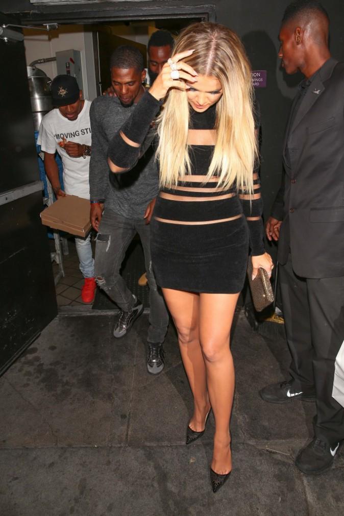 Khloé Kardashian à Los Angeles le 9 août 2015
