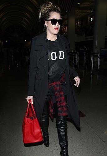 Khloé Kardashian à Los Angeles le 20 avril 2014