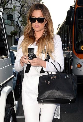 Khloé Kardashian à Los Angeles le 8 avril 2014