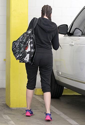 Khloé Kardashian à Los Angeles le 15 septembre 2014