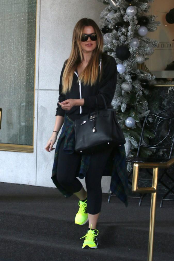 Khloe Kardashian le 22 décembre 2014