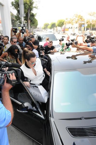 Khloe Kardashian en promo à Los Angeles, le 19 septembre 2013.