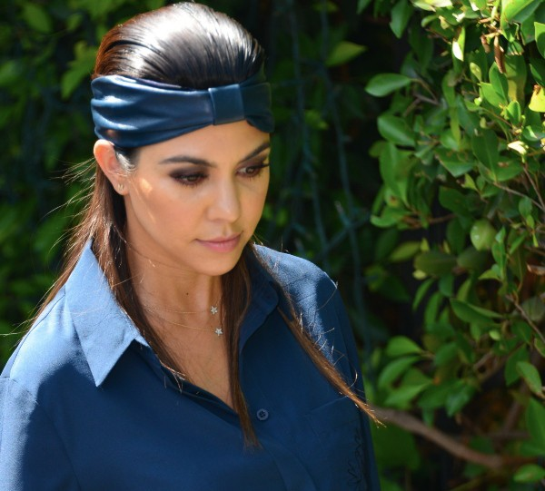 Kourtney Kardashian à Los Angeles, le 19 septembre 2013.