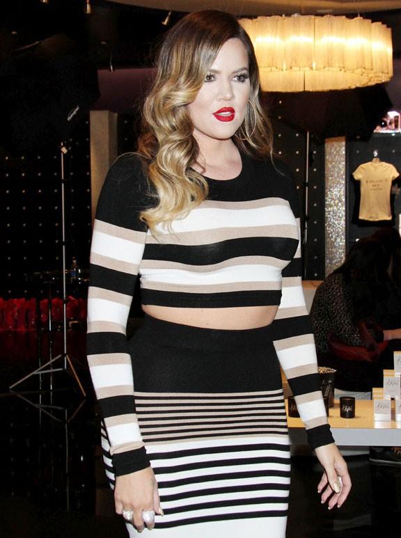 Khloé Kardashian à Las Vegas le 25 janvier 2014