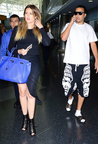 Khloé Kardashian et French Montana à New York le 3 juillet 2014