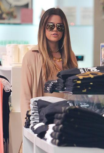Khloe Kardashian à Beverly Hills le 2 octobre 2013