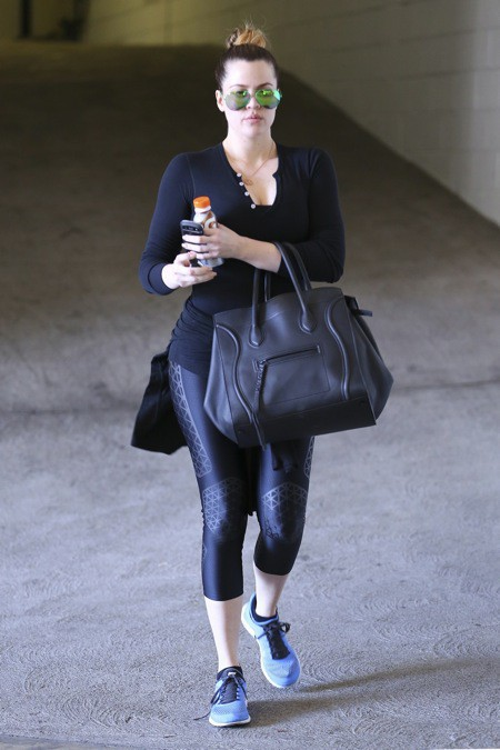 Photos : Khloé Kardashian : et si la plus sportive du clan Kardashian, c'était elle?