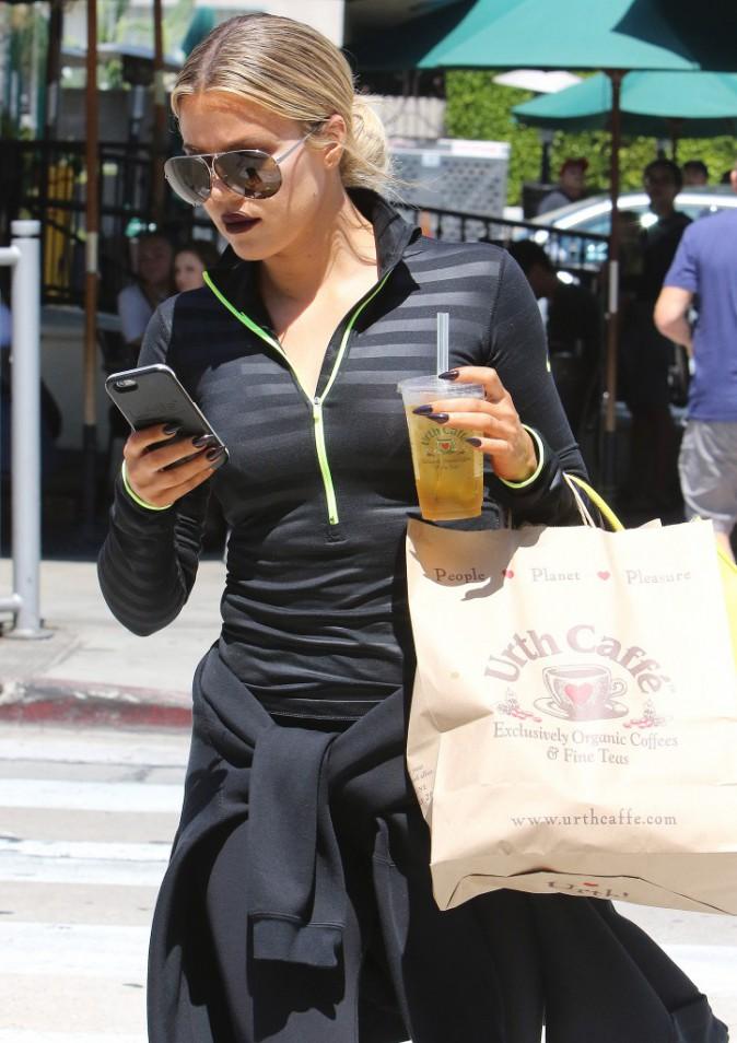 Photos : Khloe Kardashian : glamour, même pour transpirer !