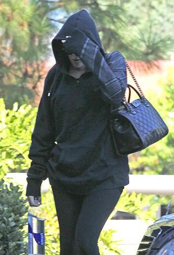 Khloe Kardashian à Los Angeles le 27 août 2013