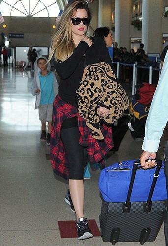 Khloé Kardashian à Los Angeles le 12 juillet 2014
