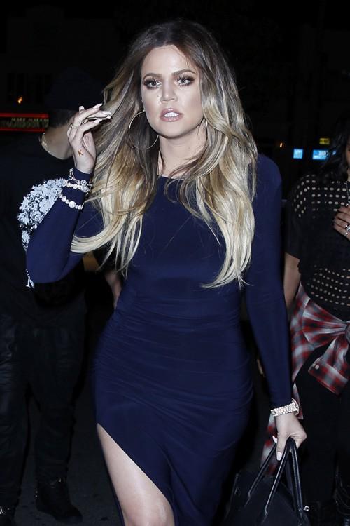 Khloe Kardashian à la soirée d'anniversaire de Christian Combs organisée le 4 avril 2014 à Los Angeles