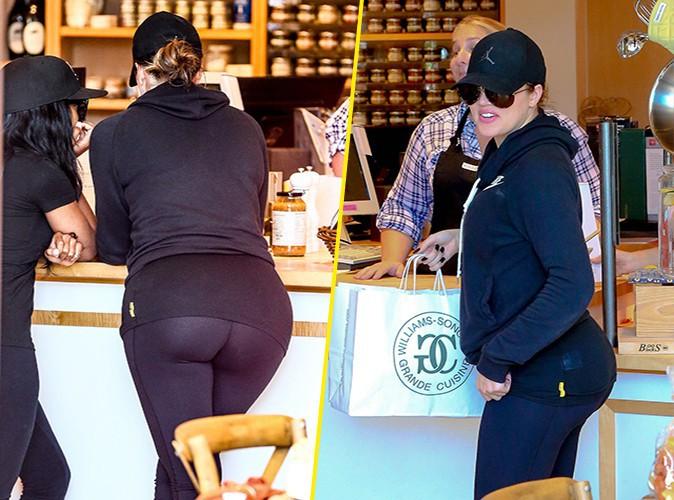 Khloé Kardashian à Los Angeles le 9 septembre 2014