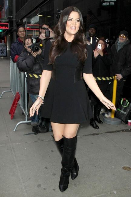 Khloe Kardashian à New York, le 31 janvier 2013.