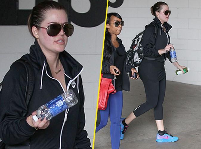 """Photos : Khloe Kardashian : """"no pain, no gain"""", elle l'a bien compris !"""