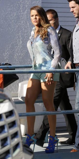 Khloe Kardashian le 19 juin 2013 à Burbank en Californie
