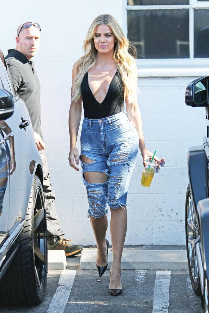 Khloe Kardashian à Los Angeles le 21 juillet 2016
