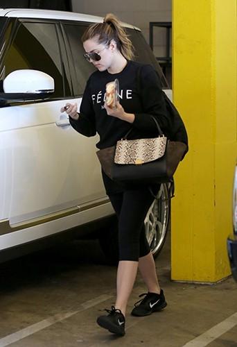 Khloé Kardashian à Los Angeles le 27 novembre 2013