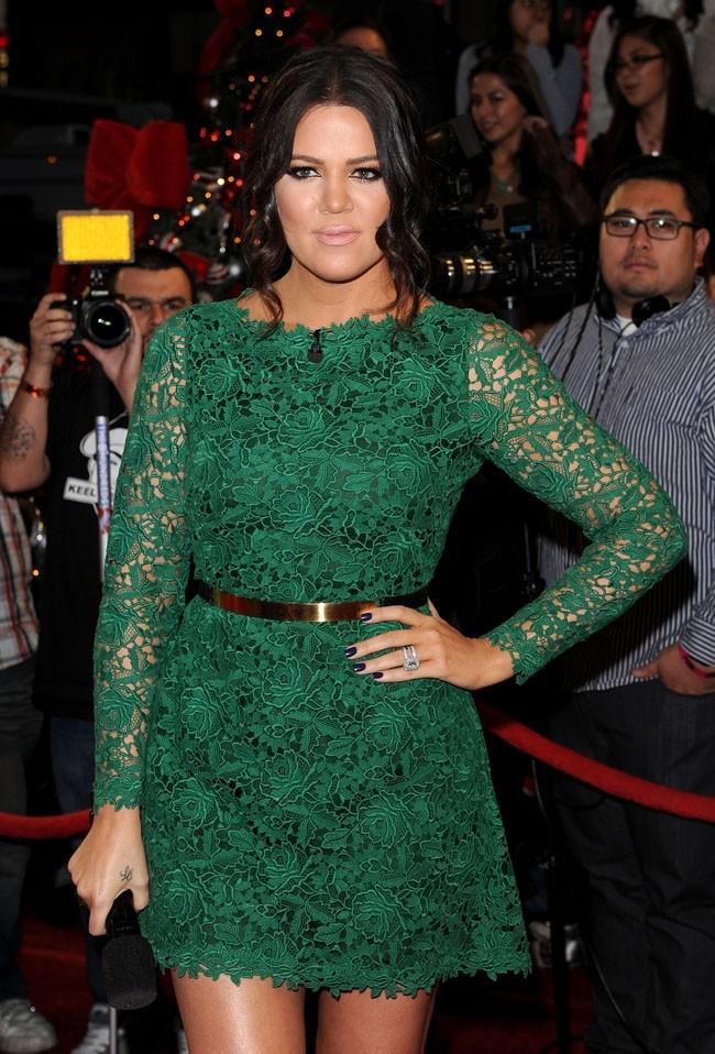 Khloe Kardashian le 20 décembre 2012 à Los Angeles