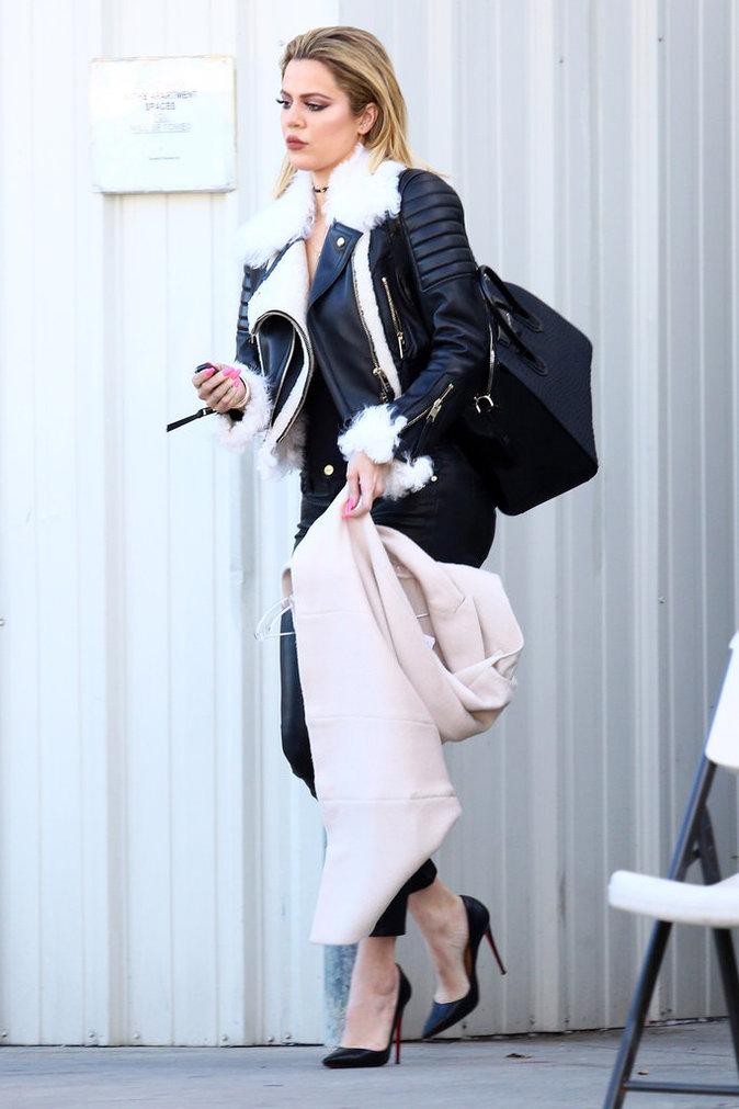 """Photos : Khloe Kardashian : """"Rob prend son état de santé plus au sérieux !"""""""