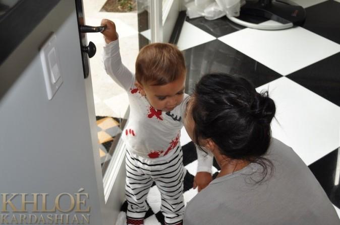 Kourtney Kardashian est là pour rappeler son fils à l'ordre !