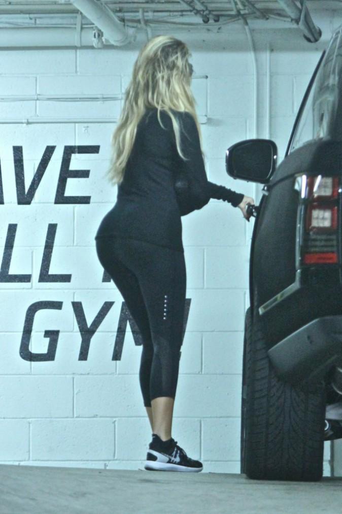Khloe Kardashian le 29 septembre 2015