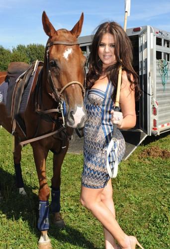 Khloé Kardashian en 2010