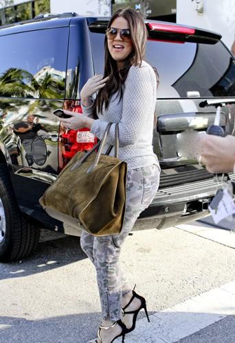 Khloé Kardashian en 2012