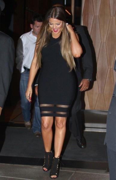 Khloe Kardashian le 28 mai 2013 à New York
