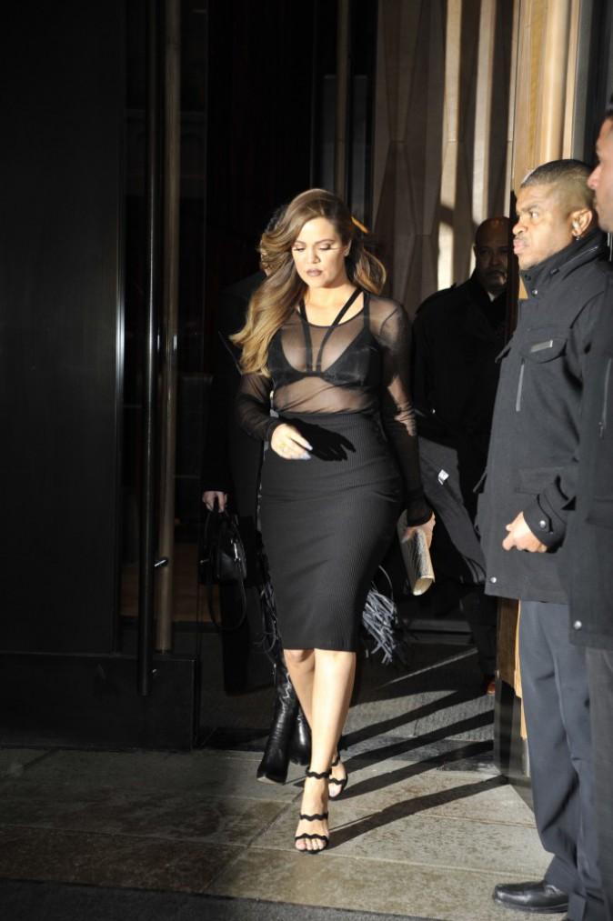 Khloe Kardashian le 12 février 2015