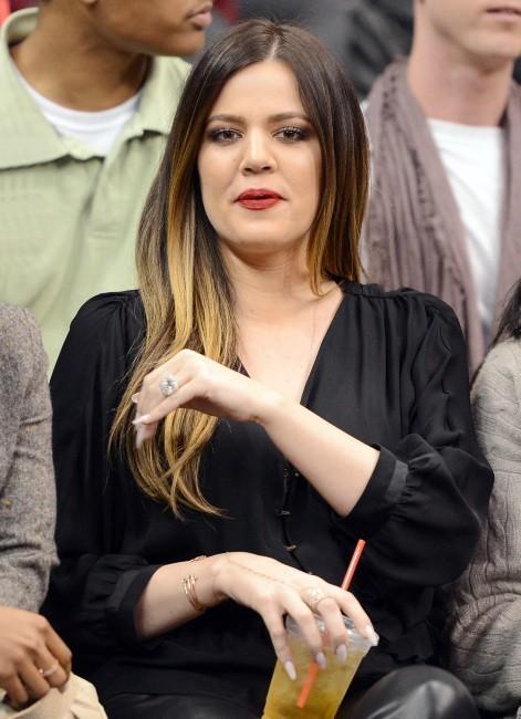 Khloe Kardashian à Los Angeles, le 26 février 2013.