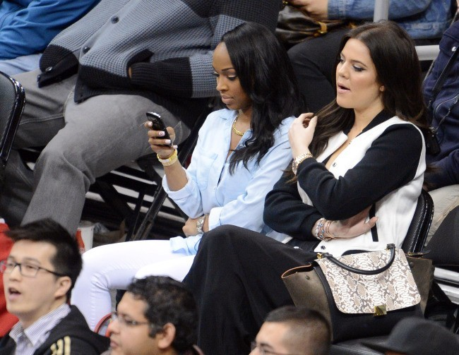 Khloe Kardashian, Los Angeles, 13 février 2013.