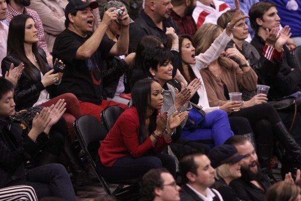 Khloe Kardashian et Kris Jenner, Los Angeles, 19 janvier 2013.