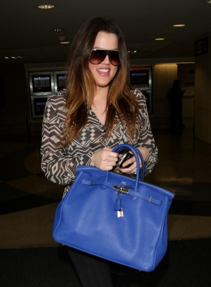 Khloe Kardashian à l'aéroport de LAX, le 22 mars 2012.