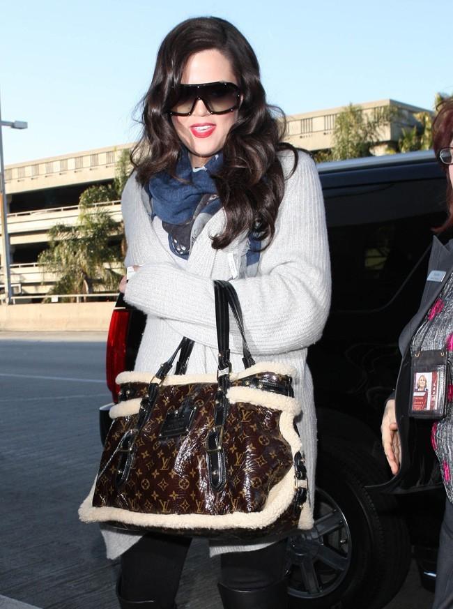Khloe Kardashian le 30 janvier 2013 à Los Angeles