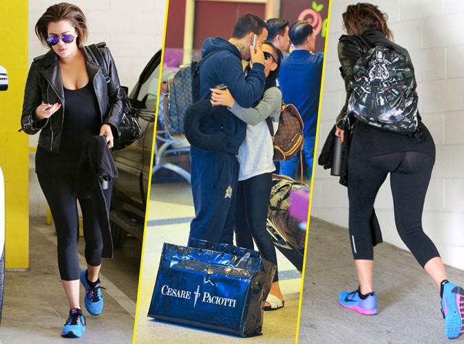 Photos : Khloe Kardashian : un derrière exhibé et un French Montana recasé!