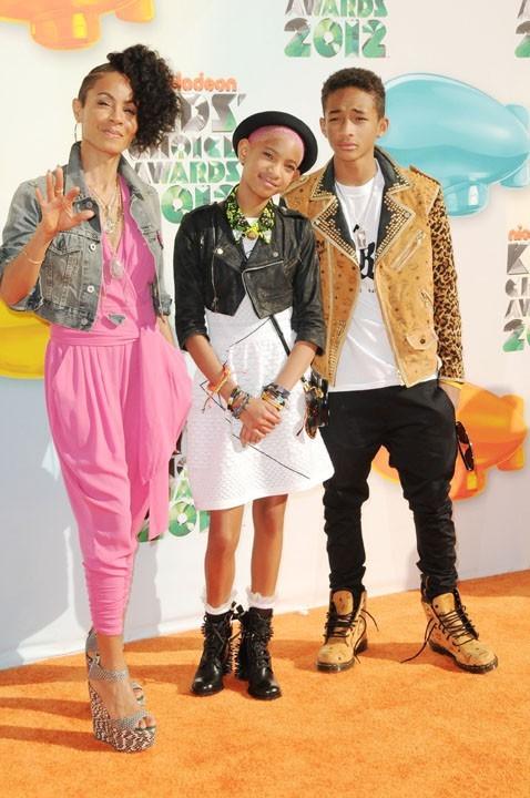 Le trio Smith aux Kids' Choice Awards !