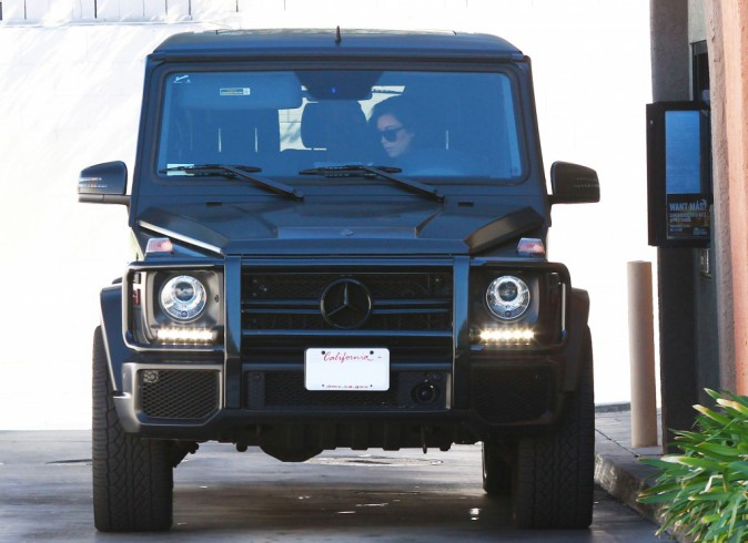 Photos : Kim et Kanye West : fast-food en amoureux... Madame conduit, monsieur paye !