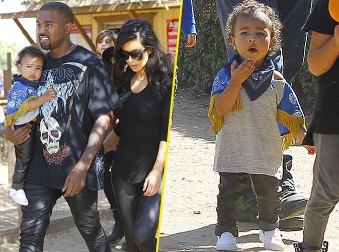Photos : Kim et Kanye West : parents dévoués, à la quête de la citrouille parfaite avec la craquante North !