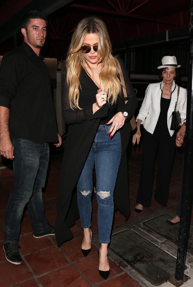 Khloé Kardashian à San Diego le 22 septembre 2015