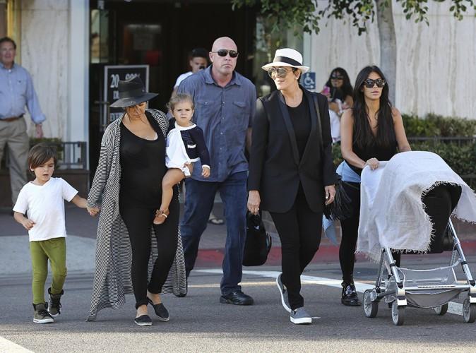 La famille Kardashian à San Diego le 22 août 2014