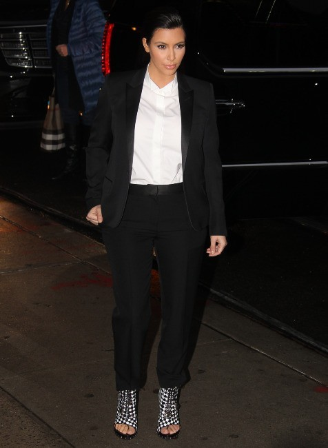 Kim Kardashian le 16 janvier 2013 à New York