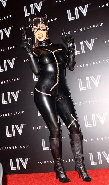 Kim Kardashian, Miami, 31 octobre 2012.