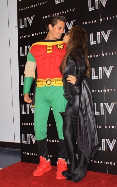 Koourtney Kardashian et Scott Disick, Miami, 31 octobre 2012.