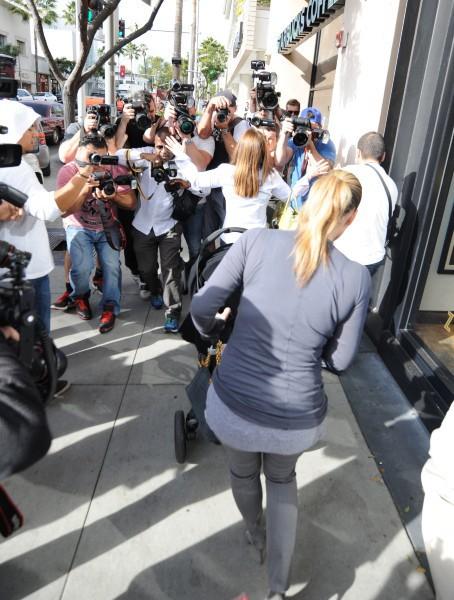 Kim Kardashian à Beverly Hills, le 16 décembre 2013.