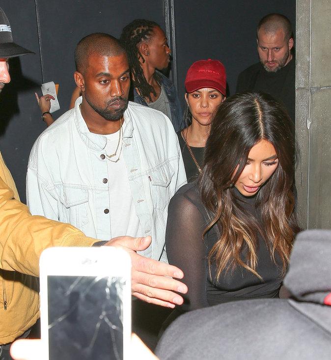 Photos : Kim, Kanye et Kourtney : une belle bande de Beliebers !