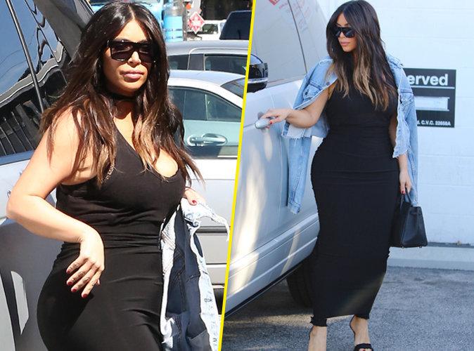 photos kim kardashian 20 kilos en moins les secrets de sa perte de poids. Black Bedroom Furniture Sets. Home Design Ideas
