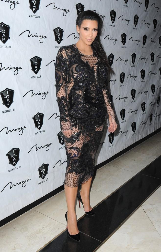 Kim Kardashian en 2012