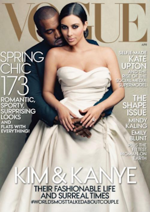 Une de Vogue avec Kanye West